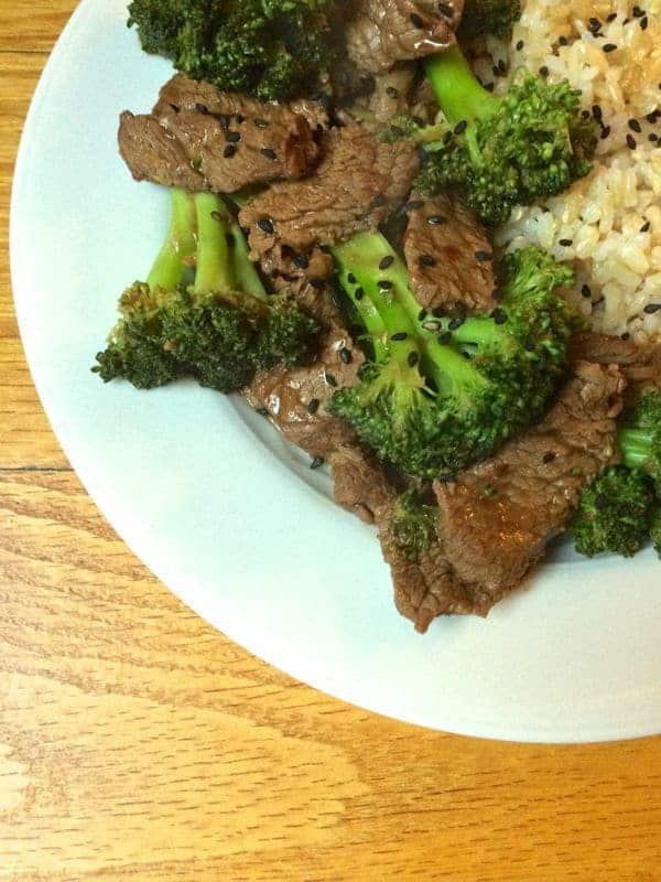 Beef and Broccoli - The Lemon Bowl