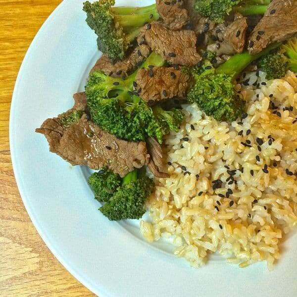 Easy Beef and Broccoli - The Lemon Bowl