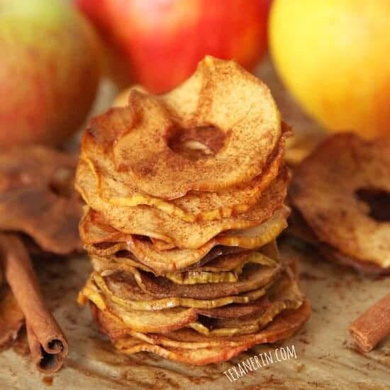 Maple Cinnamon Apple Chips - Texanerin