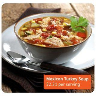 Mexican Turkey Soup - The Lemon Bowl