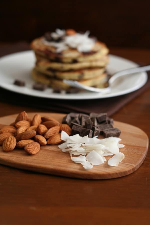 Almond Joy Pancakes 3