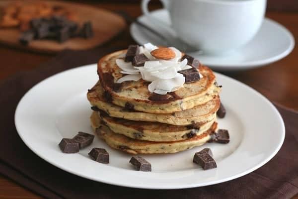 Almond Joy Pancakes Gluten Free