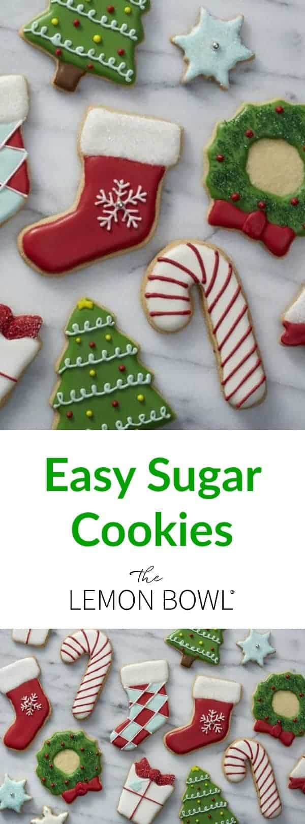 Easy Sugar Cookies The Lemon Bowl