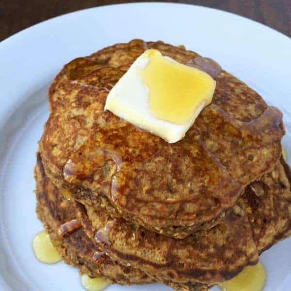 Gingerbread Protein Pancakes - The Lemon Bowl