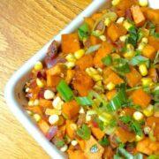 Smoky Sweet Potato and Corn Hash - The Lemon Bowl