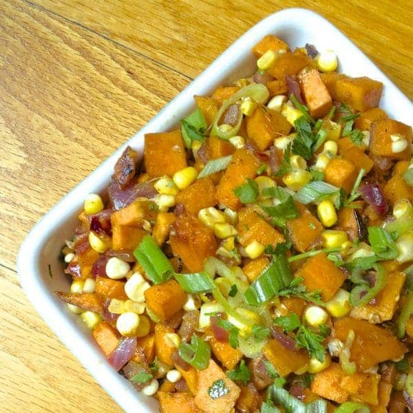 Sweet Potato and Corn Hash - The Lemon Bowl