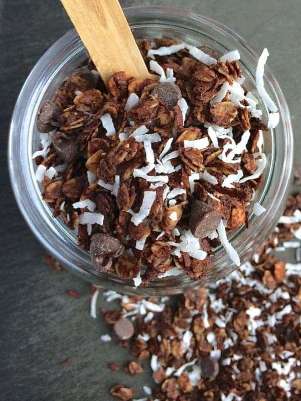 Almond Joy Granola - The Lemon Bowl