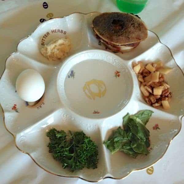 Seder Plate - The Lemon Bowl