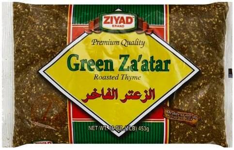green zaatar