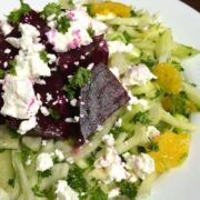 Fennel and Orange Slaw with Roasted Beets and Goat Cheese - The Lemon Bowl