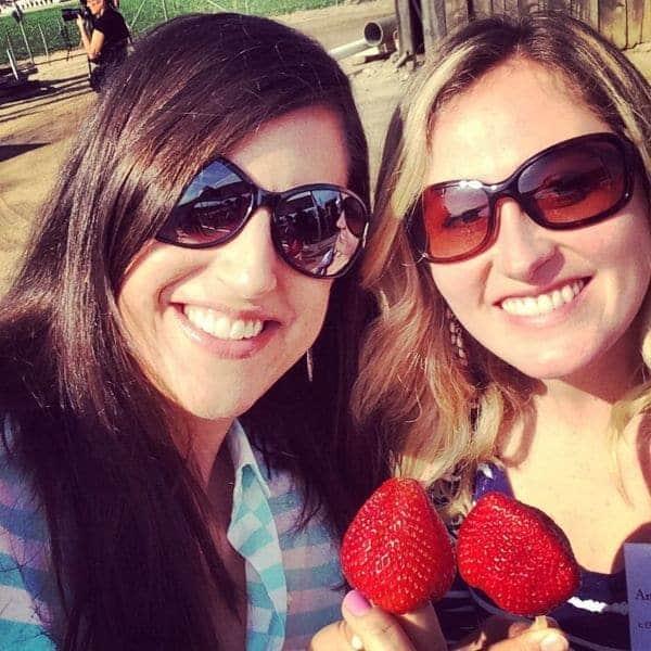 Strawberry Selfies - The Lemon Bowl
