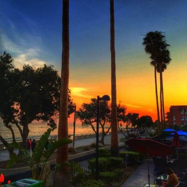 Sunset on Ventura Beach - The Lemon Bowl