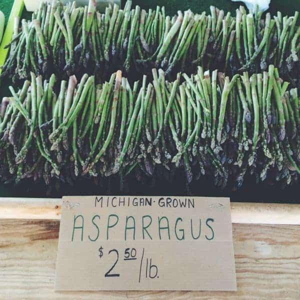 Asparagus - farmers market