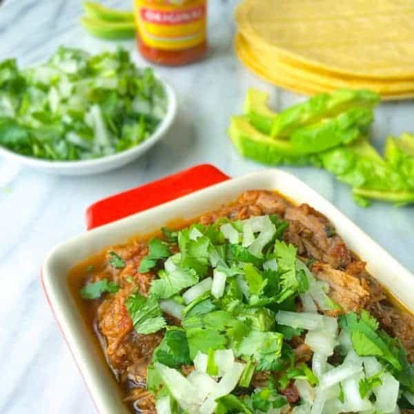 Beef Tacos with Cilantro and Onions - The Lemon Bowl