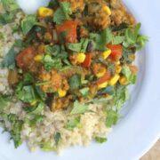 Indian Summer Turkey Chili by The Lemon Bowl