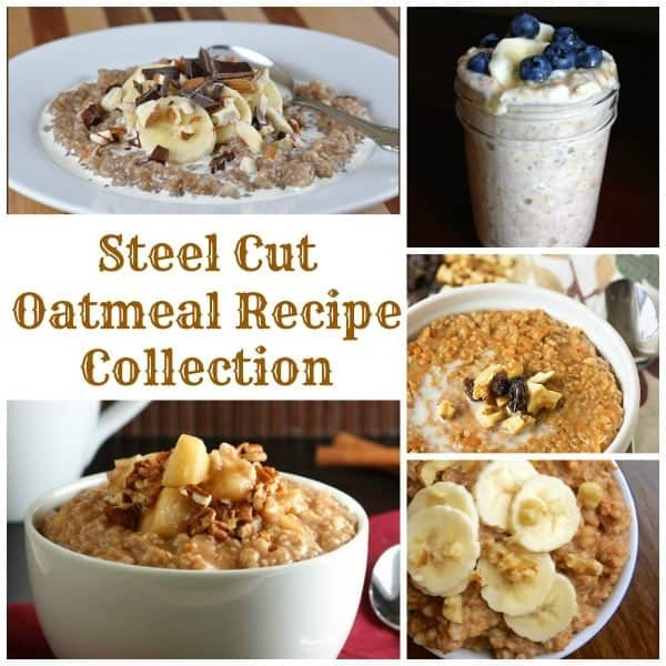 Steel Cut Oatmeal Recipe Collection - The Lemon Bowl