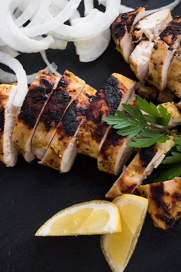Indian Spiced Chicken Dinner Recipe
