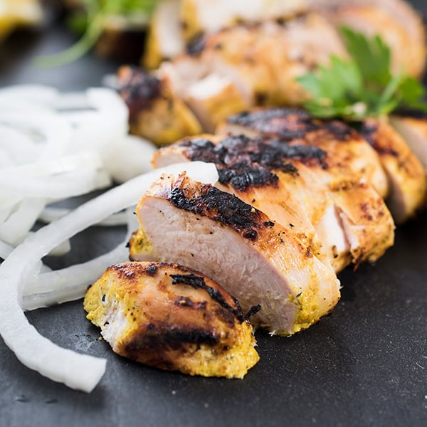 healthy summer recipes - jerk chicken