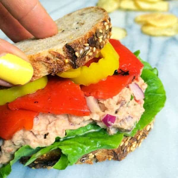 Mediterranean Tuna Salad - The Lemon Bowl
