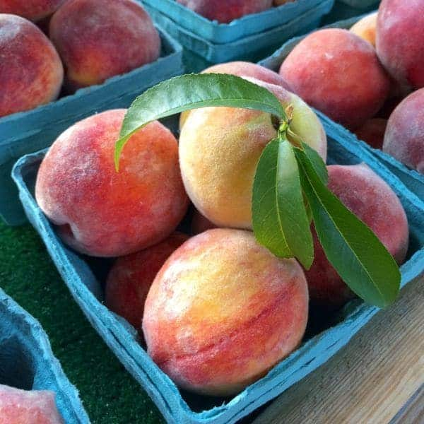Peaches at Market