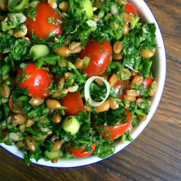 Spelt Tabbouleh by The Lemon Bowl