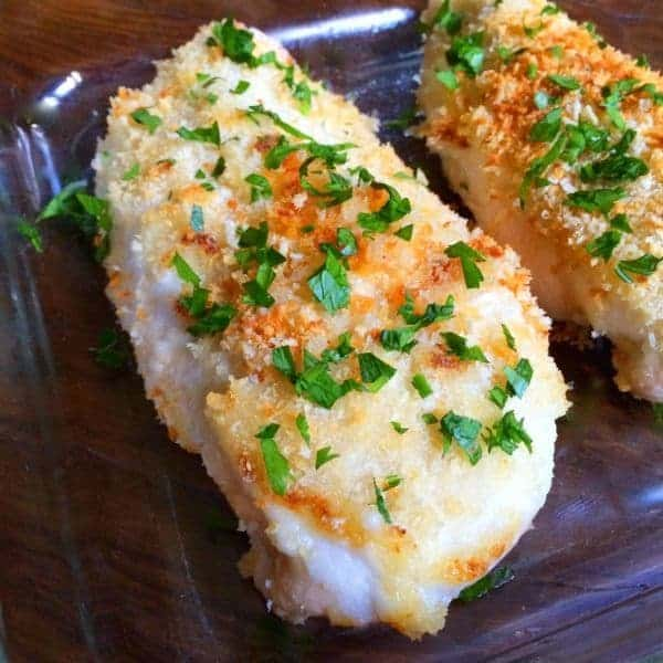 Crispy Garlic Baked Chicken Breasts - The Lemon Bowl