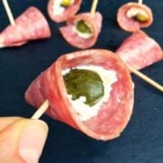 Pickles in a Blanket Appetizer - The Lemon Bowl