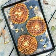 Whole Wheat Pumpkin Waffles by The Lemon Bowl