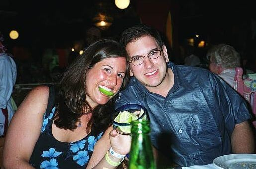 Liz and Rich in Cancun