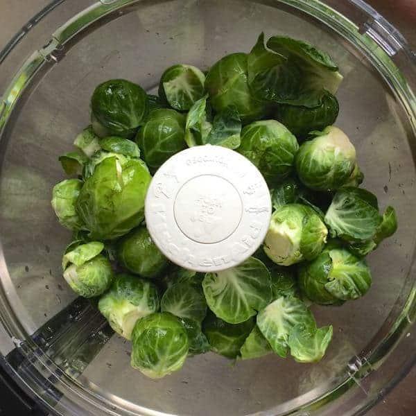 Brussels in Food Processor - The Lemon Bowl