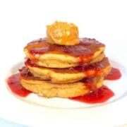 Peanut Butter and Jelly Pancakes - The Lemon Bowl copy