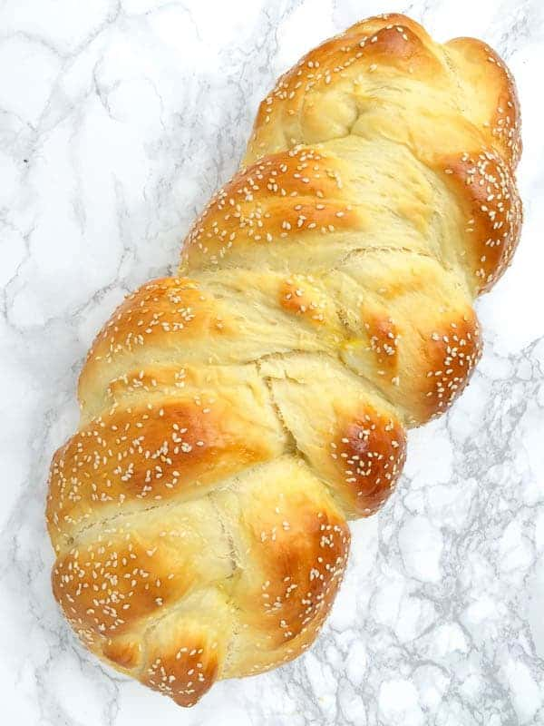 Homemade Challah Bread Recipe - The Lemon Bowl