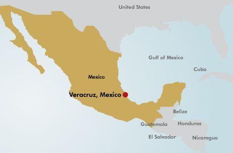Veracruz Mexico Map