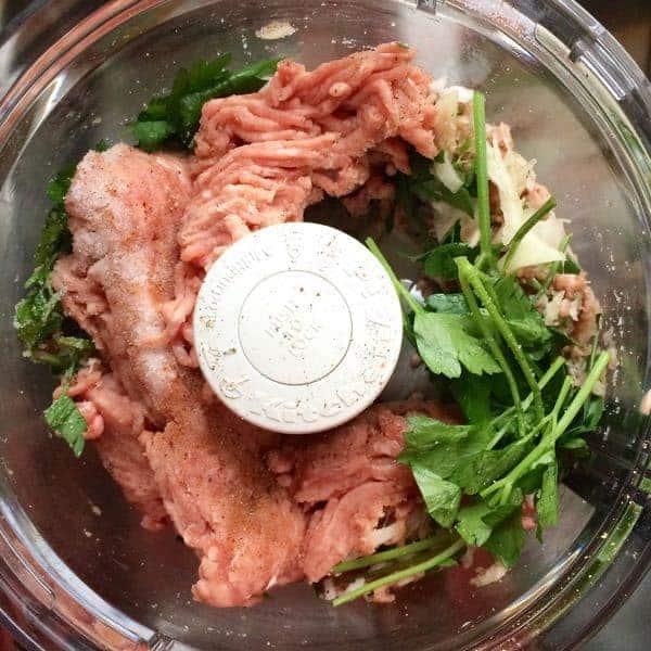 Food Processor Meatballs - The Lemon Bowl