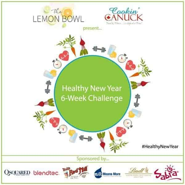 Healthy New Year 6-Week Challenge Logo - The Lemon Bowl