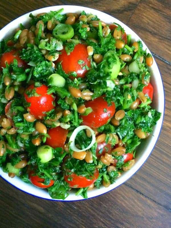 Spelt-Tabbouleh-with-Jalapeno-Vinaigrette-The-Lemon-Bowl