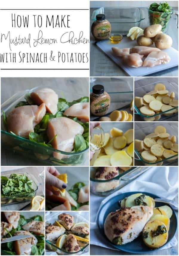 How-to-make-mustard-lemon-chicken-with-spinach-and-potatoes