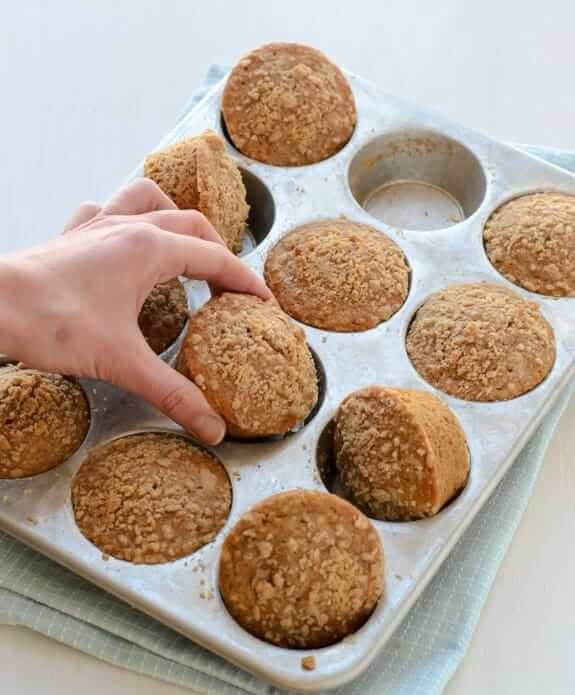 Maple Oat Muffin - The Lemon Bowl