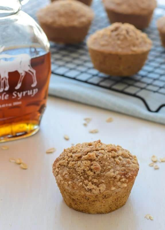 Maple Oat Muffins by The Lemon Bowl
