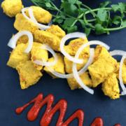 Chicken Satay with Hoisin Peanut Sauce - The Lemon Bowl