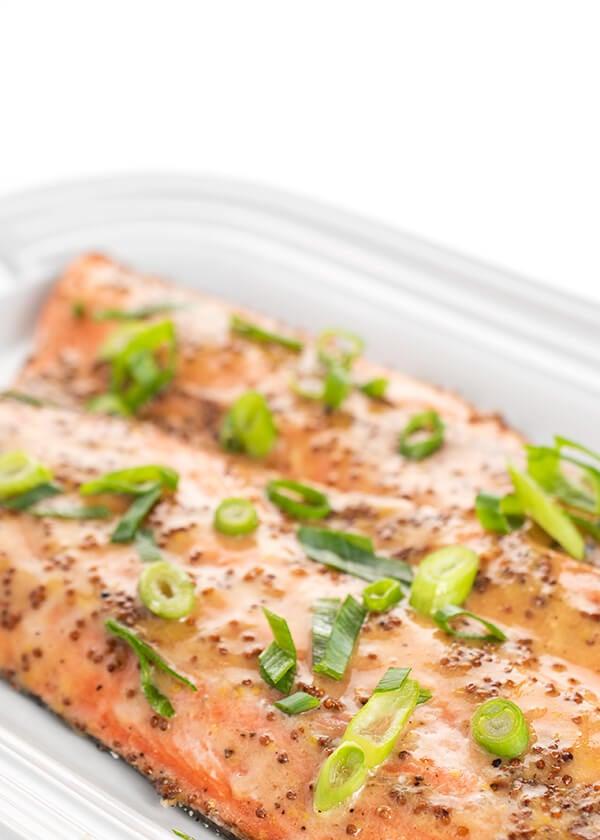 Honey Mustard Glazed Salmon - The Lemon Bowl®