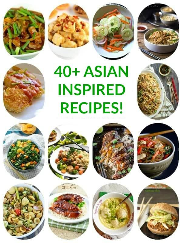 40 Healthy Asian Inspired Recipes The Lemon Bowl