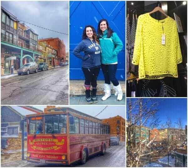 Park City Main Street Shops Collage - The Lemon Bowl