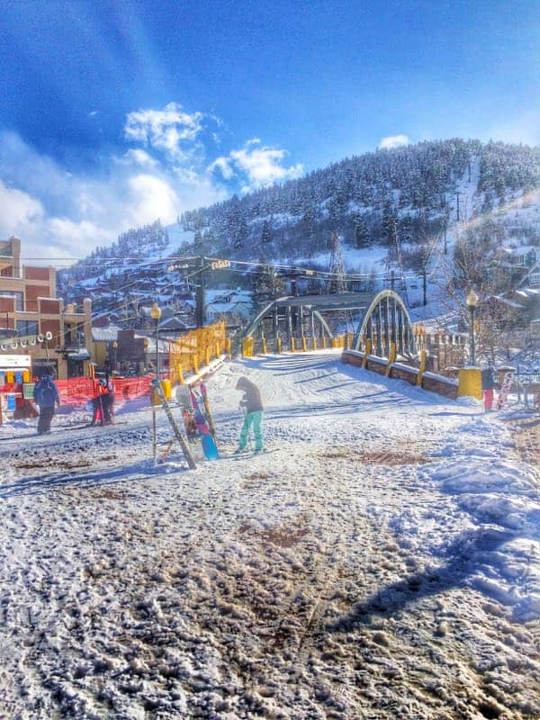 Ski Bridge - The Lemon Bowl