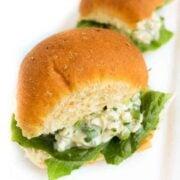 Chicken Salad Sliders - The Lemon Bowl