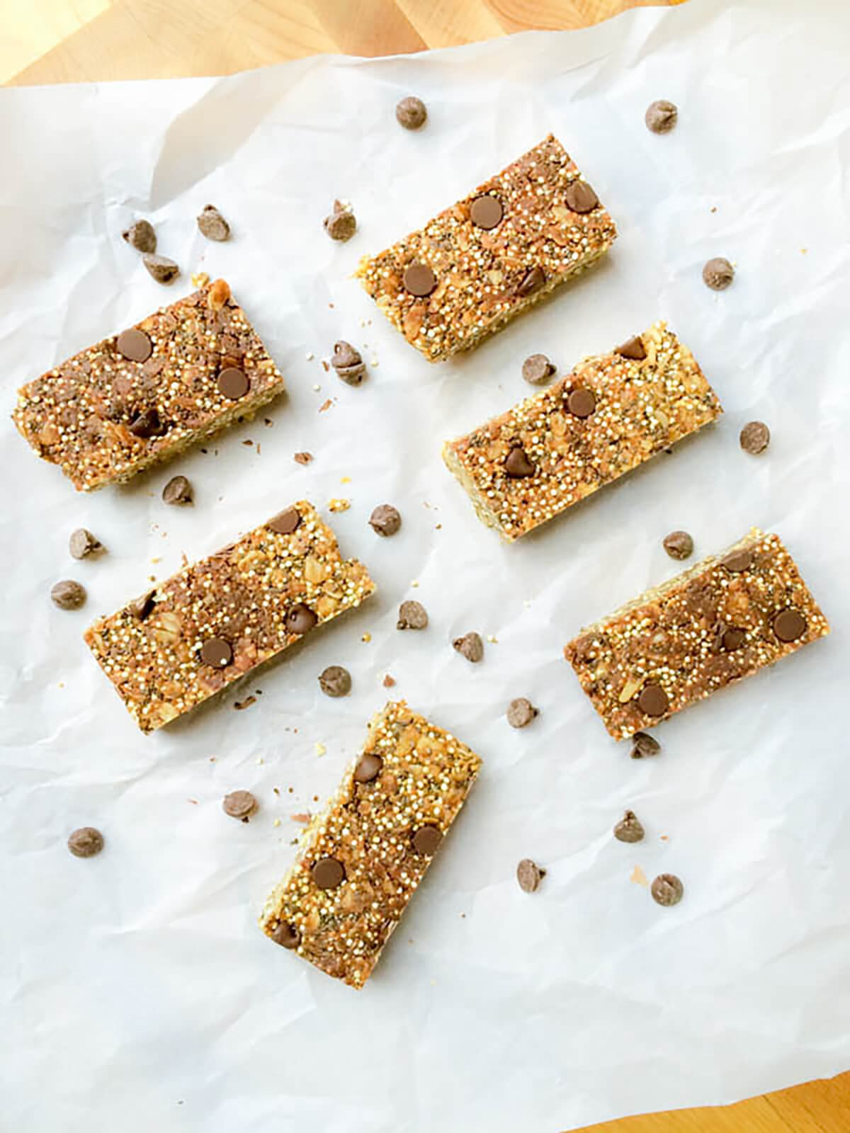 no bake quinoa bars