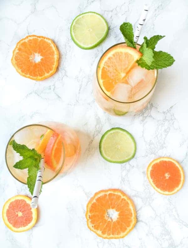 Citrus Orange Mojitos - The Lemon Bowl