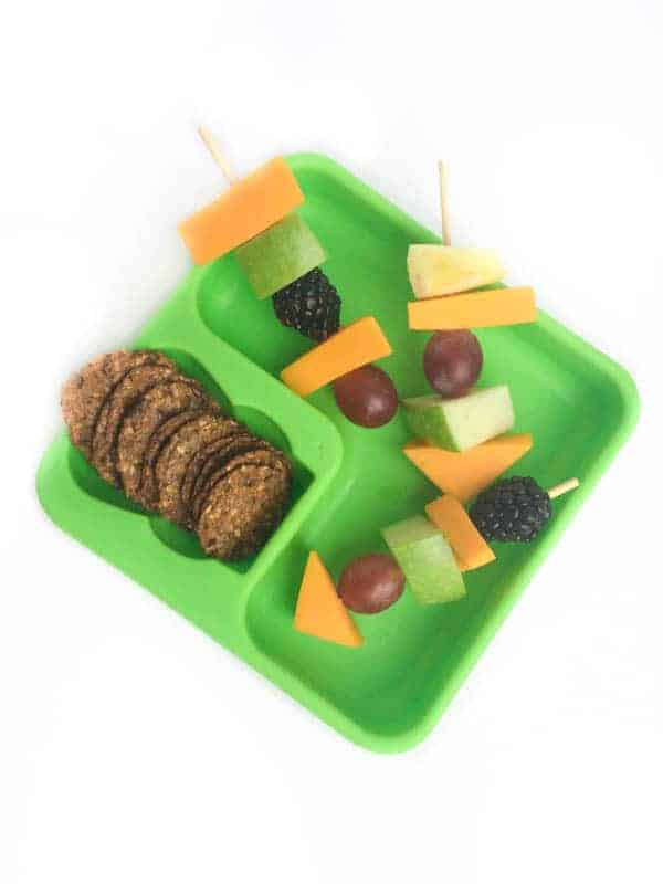 Fruit and Cheese Kabobs for Lunch Box - The Lemon Bowl