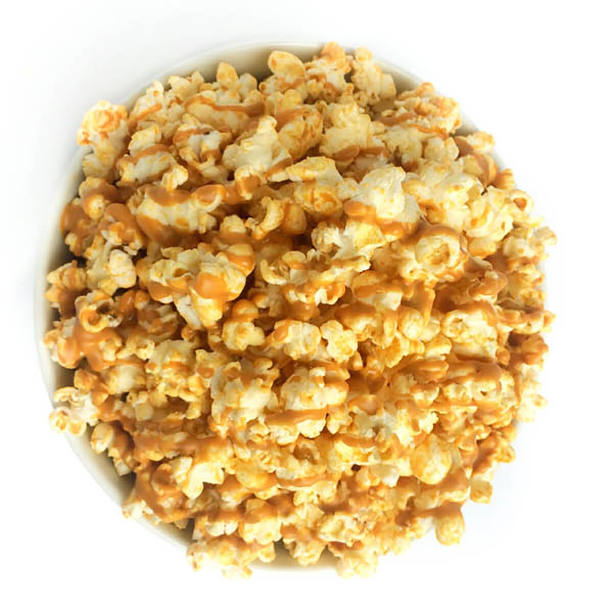 Peanut Butter Smothered Popcorn