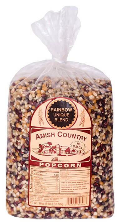amish popcorn rainbow blend